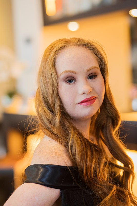 Madeline Stuart, Model mit Down-Syndrom